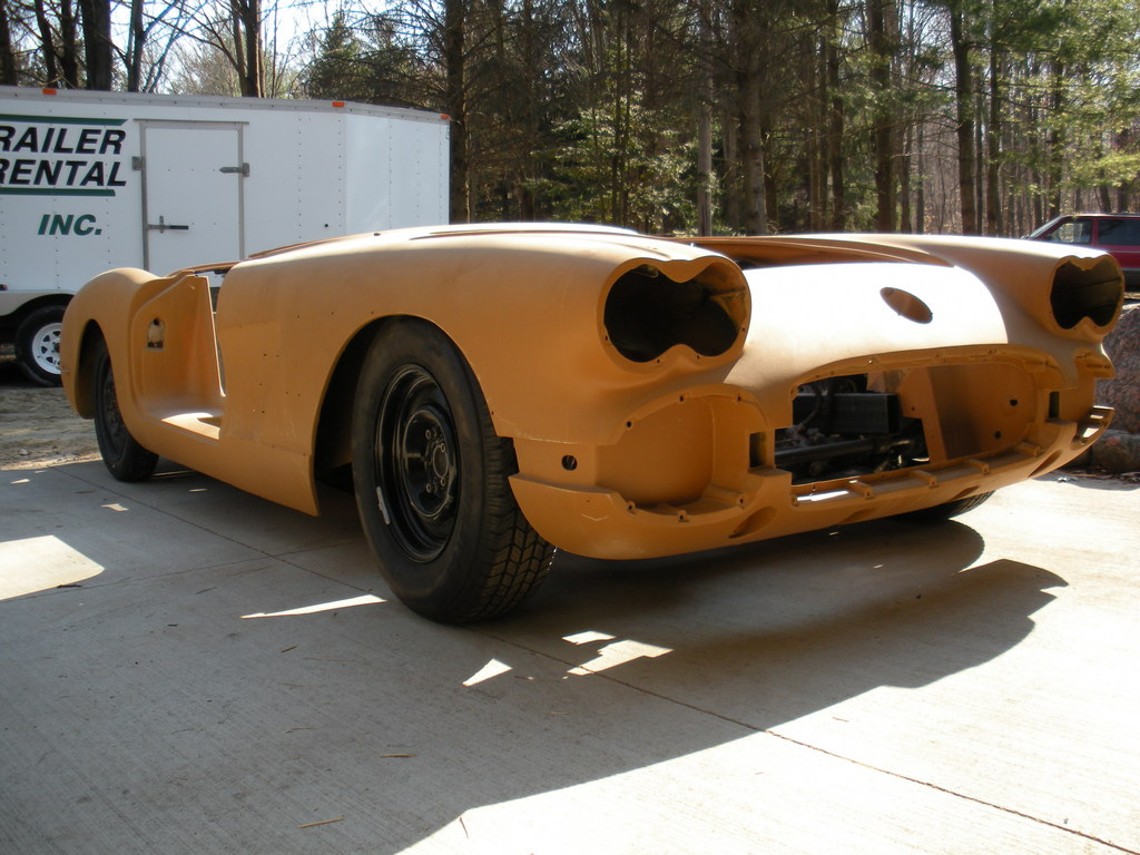 Bergy350 1958 Chevrolet Corvette Specs, Photos, Modification Info at
