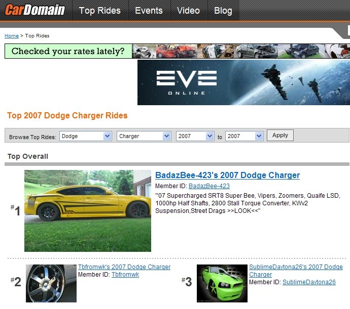 Another BadazBee-423 2007 Dodge Charger post... - 12811672