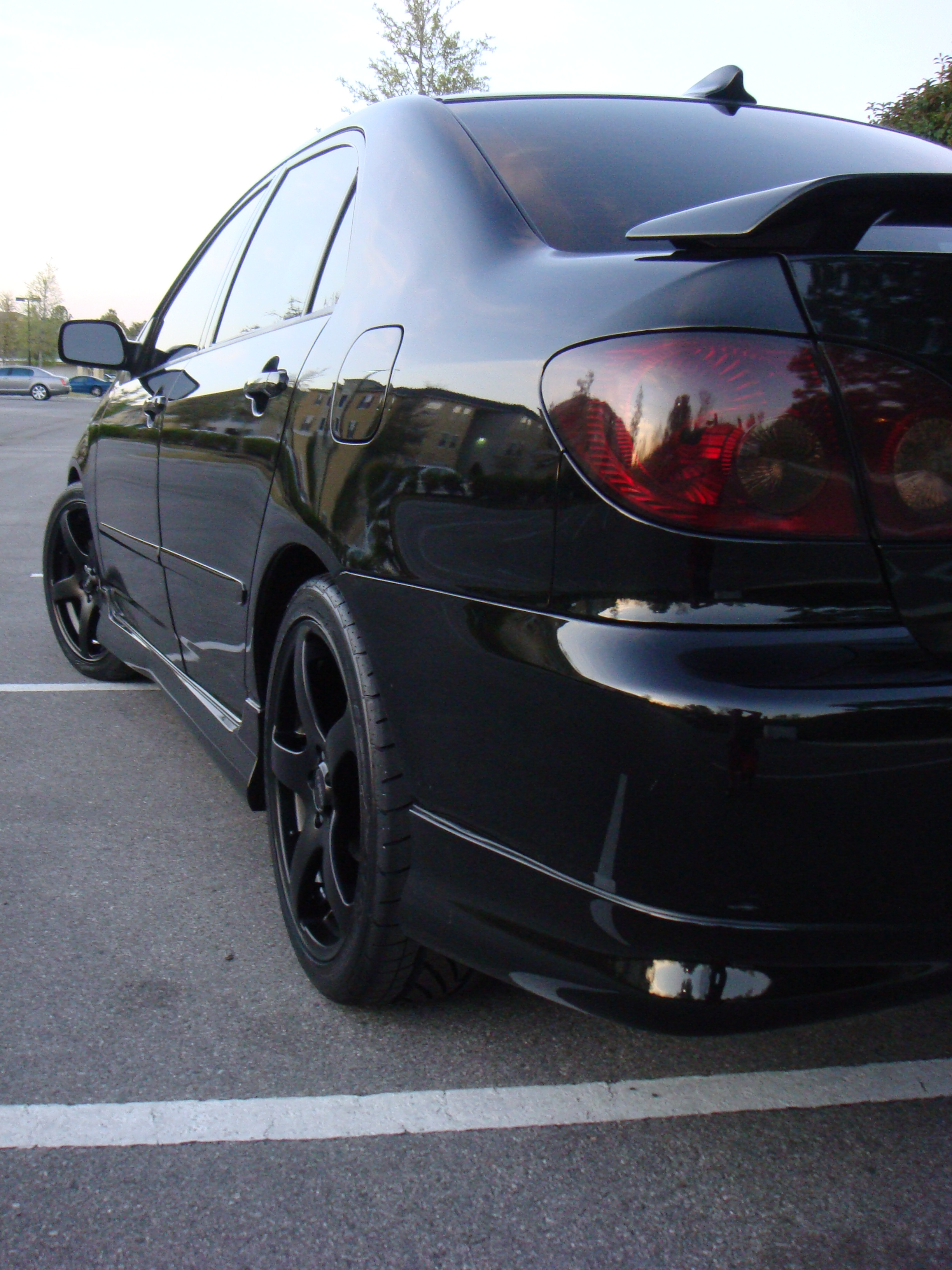PITCH-BLACK 2007 Toyota Corolla Specs, Photos, Modification Info at CarDomain