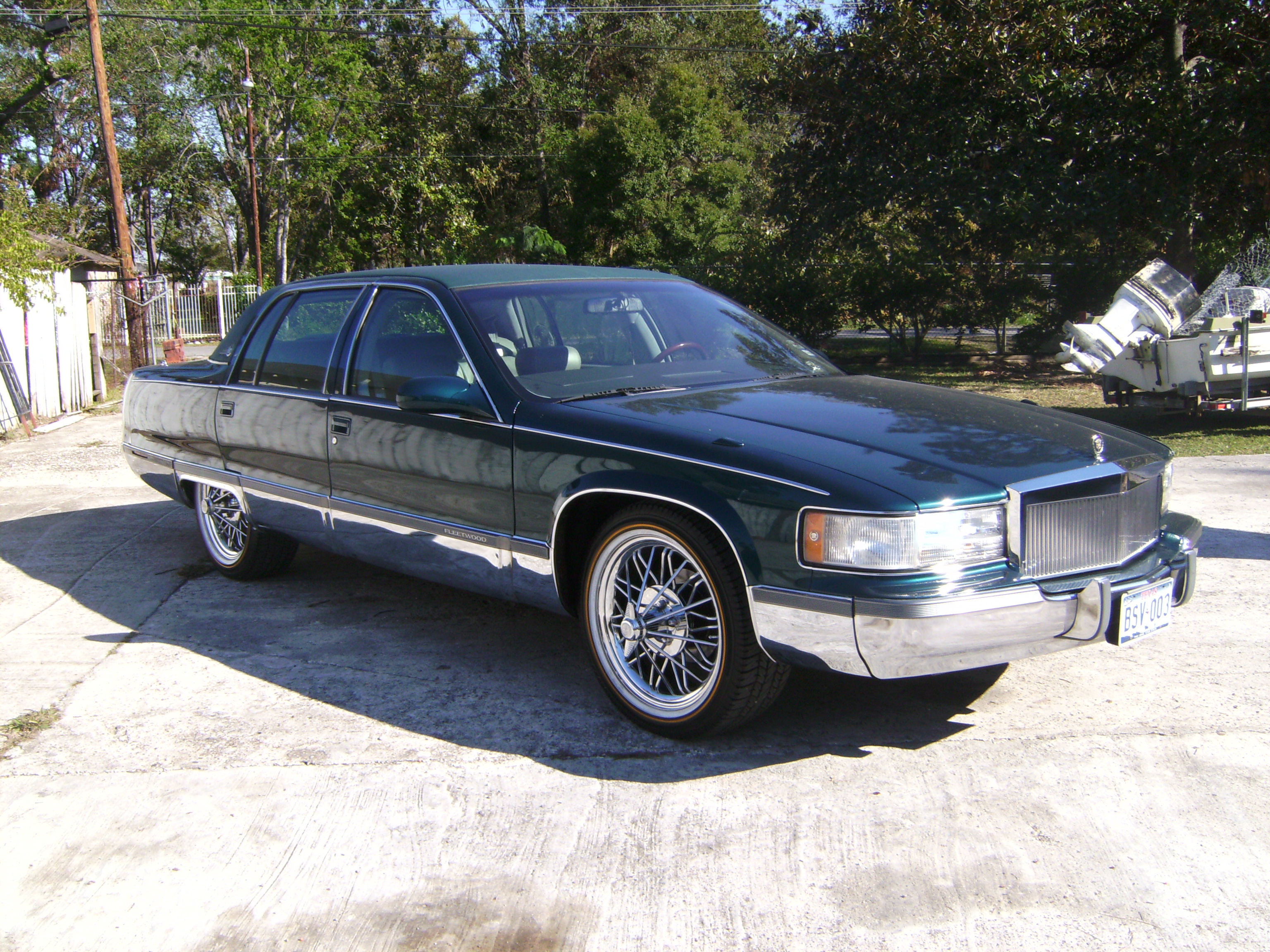 otgcarclub713 1996 Cadillac Fleetwood Specs Photos Modification