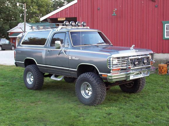 trackboy1 1985 Dodge Ramcharger Specs, Photos, Modification Info at
