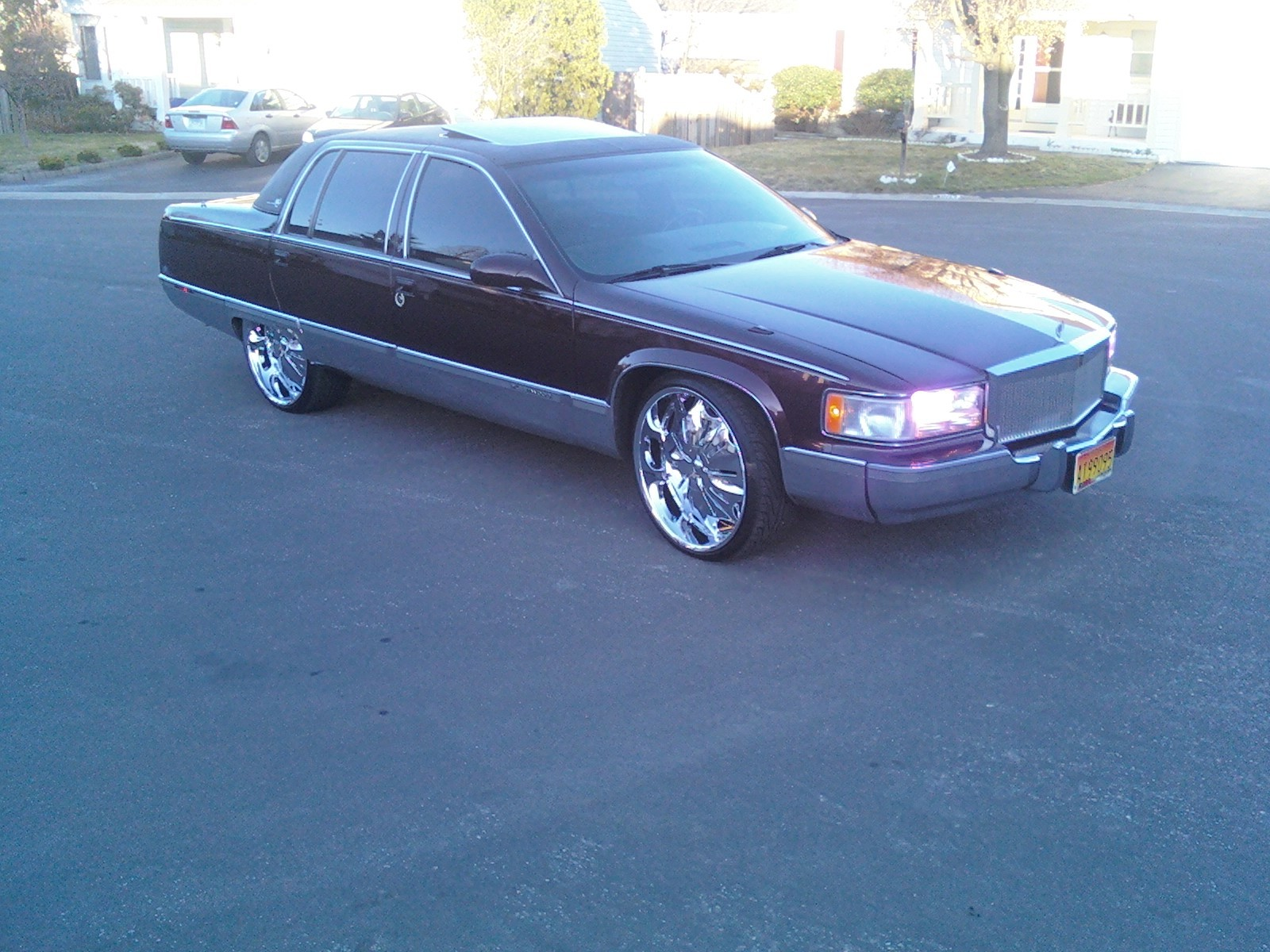 sickazzcadi 1995 cadillac fleetwood specs photos modification info. Cars Review. Best American Auto & Cars Review
