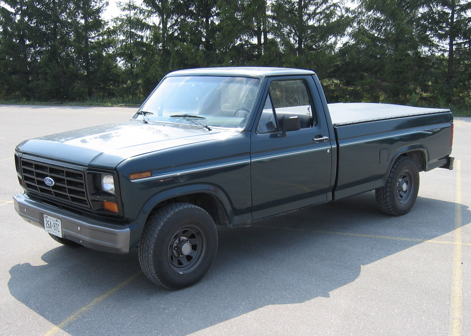 Permalink to 1985 Ford F150