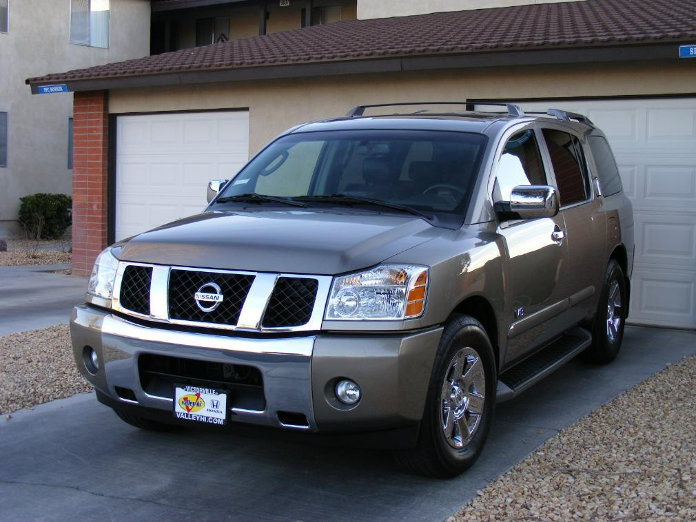 gundamwzero 2007 nissan pathfinder armada specs photos modification info at cardomain. Black Bedroom Furniture Sets. Home Design Ideas