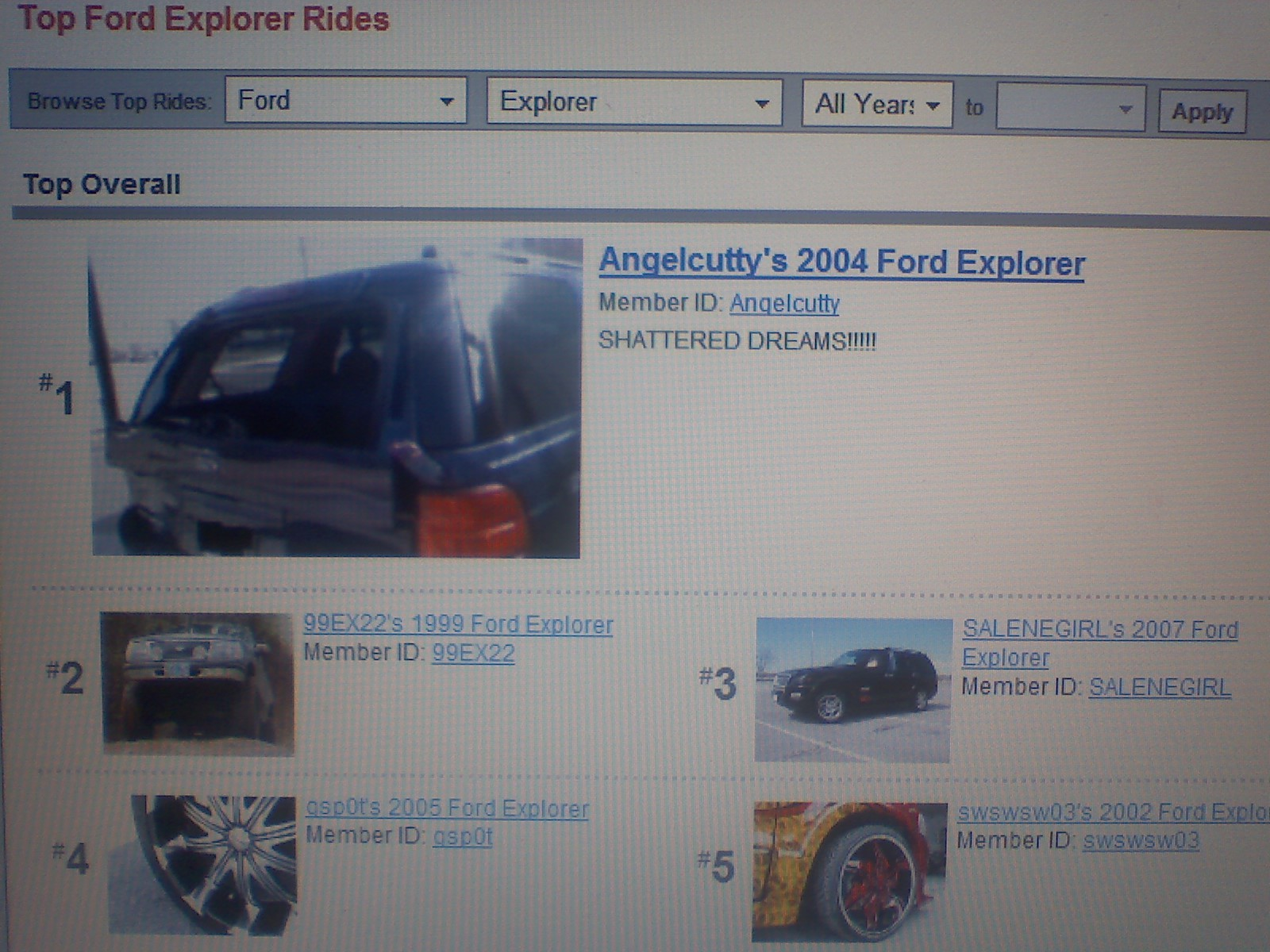 Angelcutty 2004 Ford Explorer 12833013
