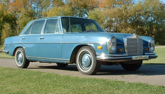 Another Bugracing 1968 Mercedes-Benz S-Class post... - 9538692