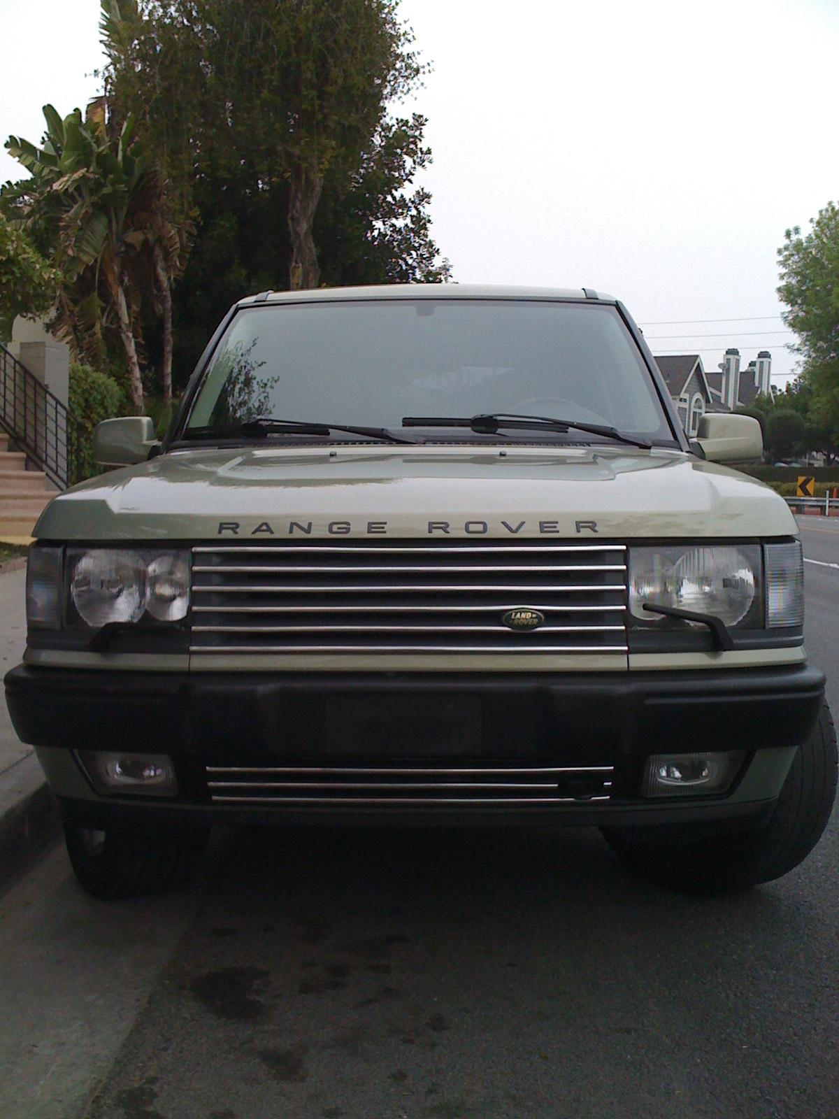 strangerover 2002 land rover range rover specs photos modification info at cardomain. Black Bedroom Furniture Sets. Home Design Ideas
