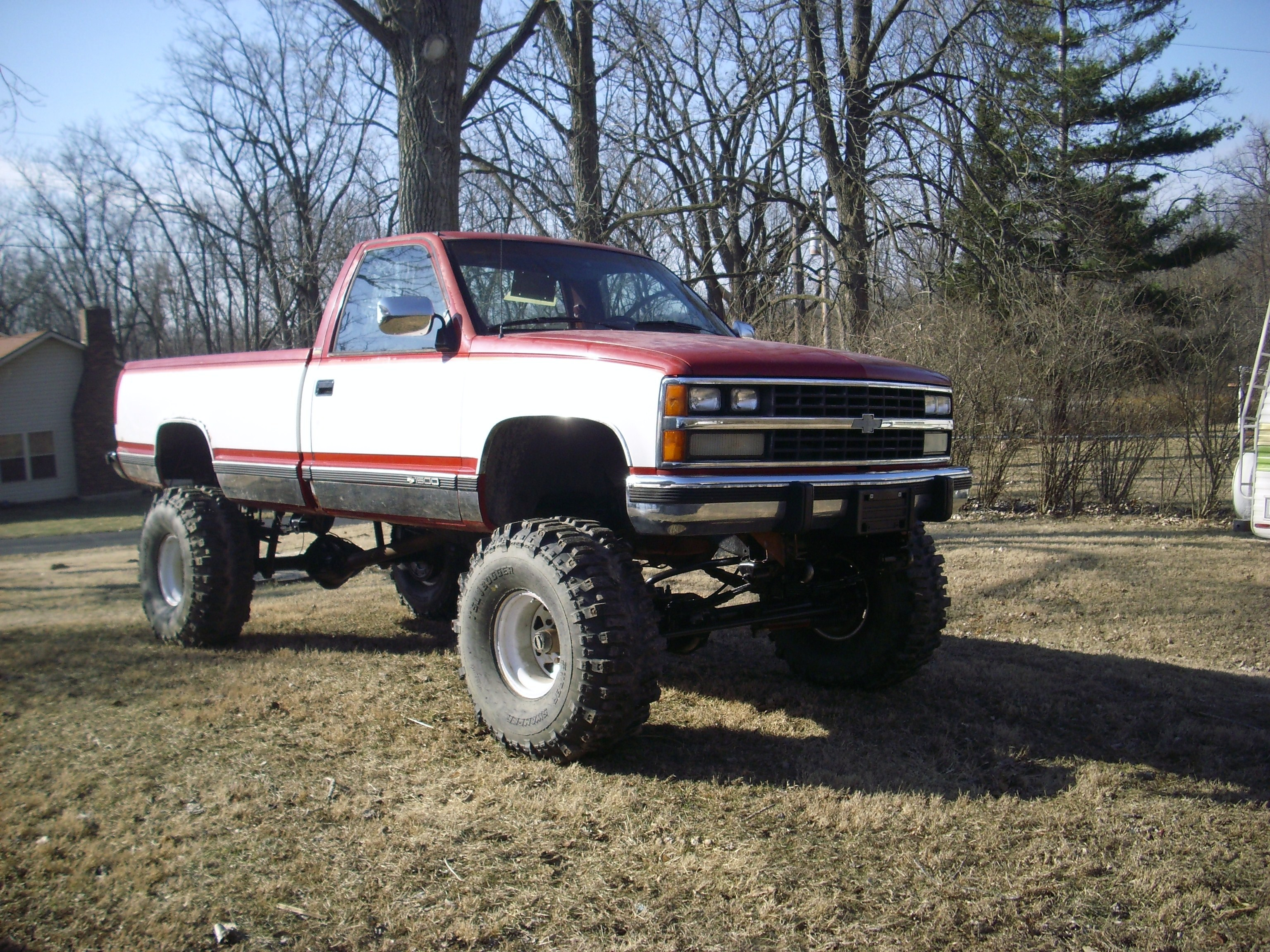 Chevrolet CK 1500 Questions  1994 Chevy C1500 57 bogs