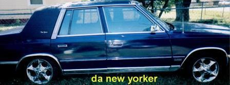 secyndazzlin's 1987 Chrysler New Yorker