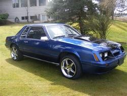 Doubledimes 1984 Ford Mustang