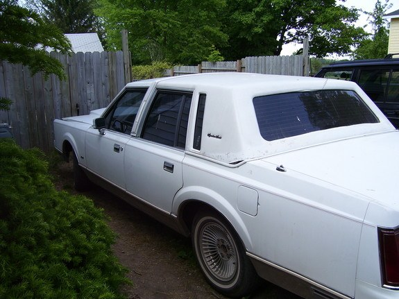 Lowridinlincoln 1989 Lincoln Town Car 9539293