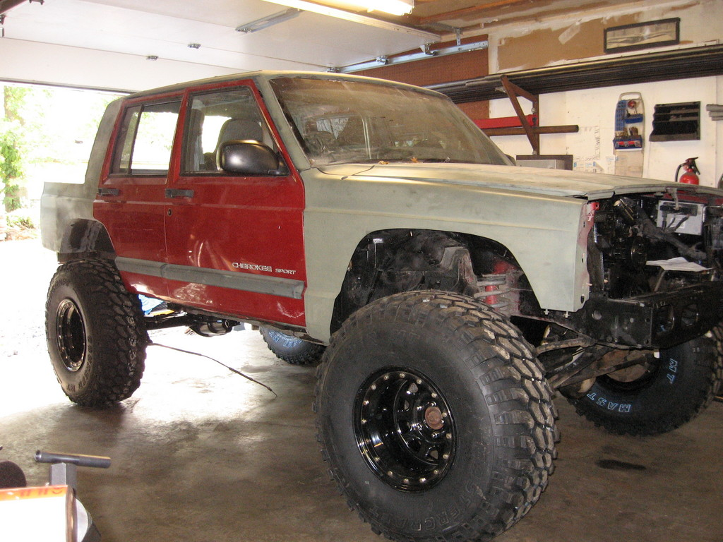 xjryder 1989 jeep cherokee specs, photos, modification info at