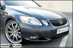 Saudi_Exits 2005 Lexus GS