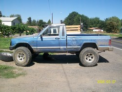 rawblues 1989 Jeep Comanche Regular Cab