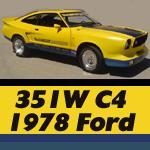 CobraII4mes 1978 Ford Mustang II