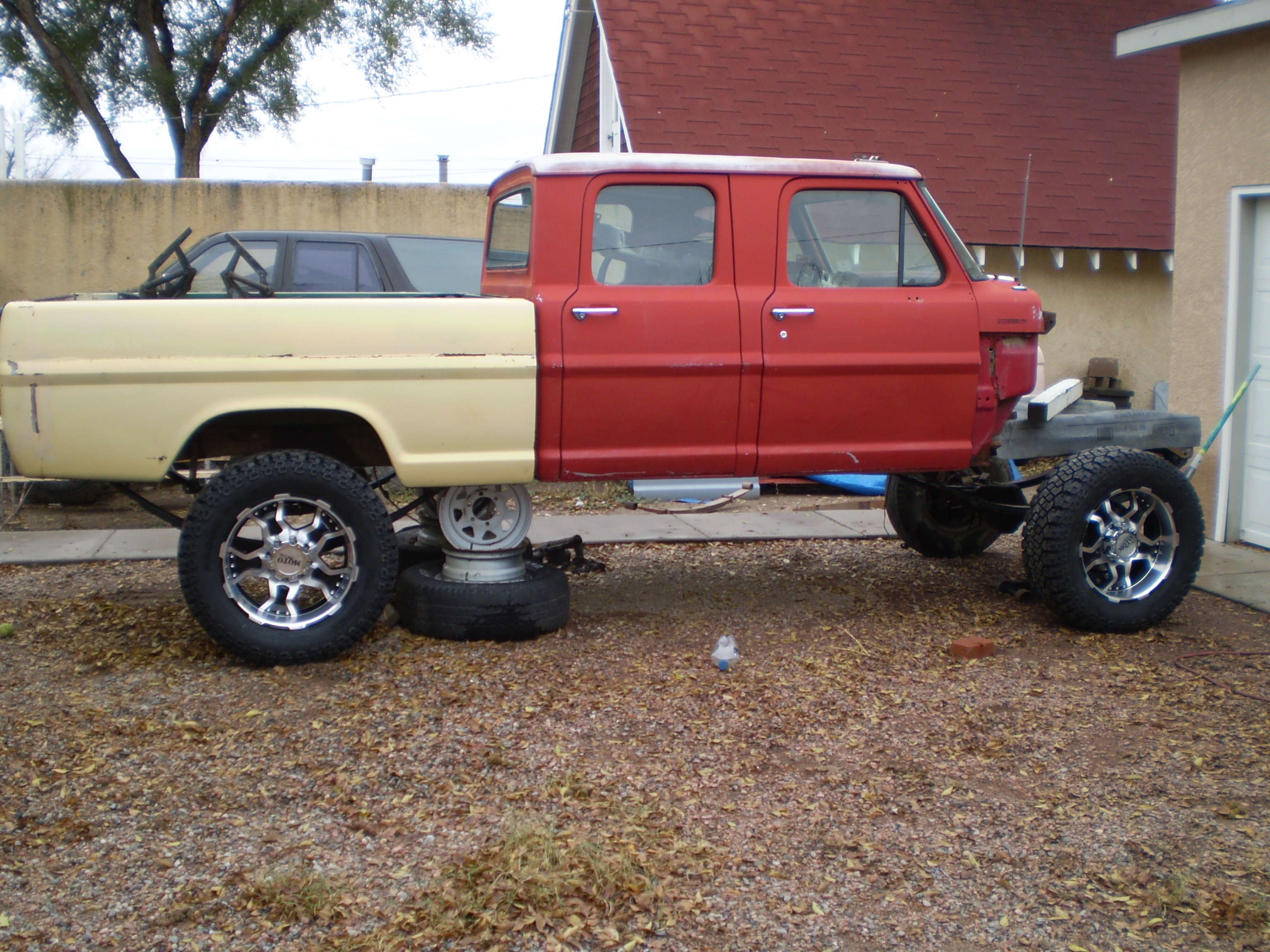 1972 Ford F350 Super Duty Crew Cab