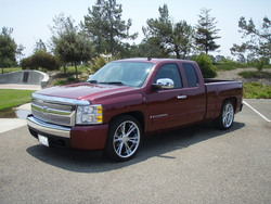 WACKYPRELUDEs 2008 Chevrolet Silverado 1500 Extended Cab