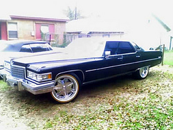 caldoggtxs 1976 Cadillac DeVille