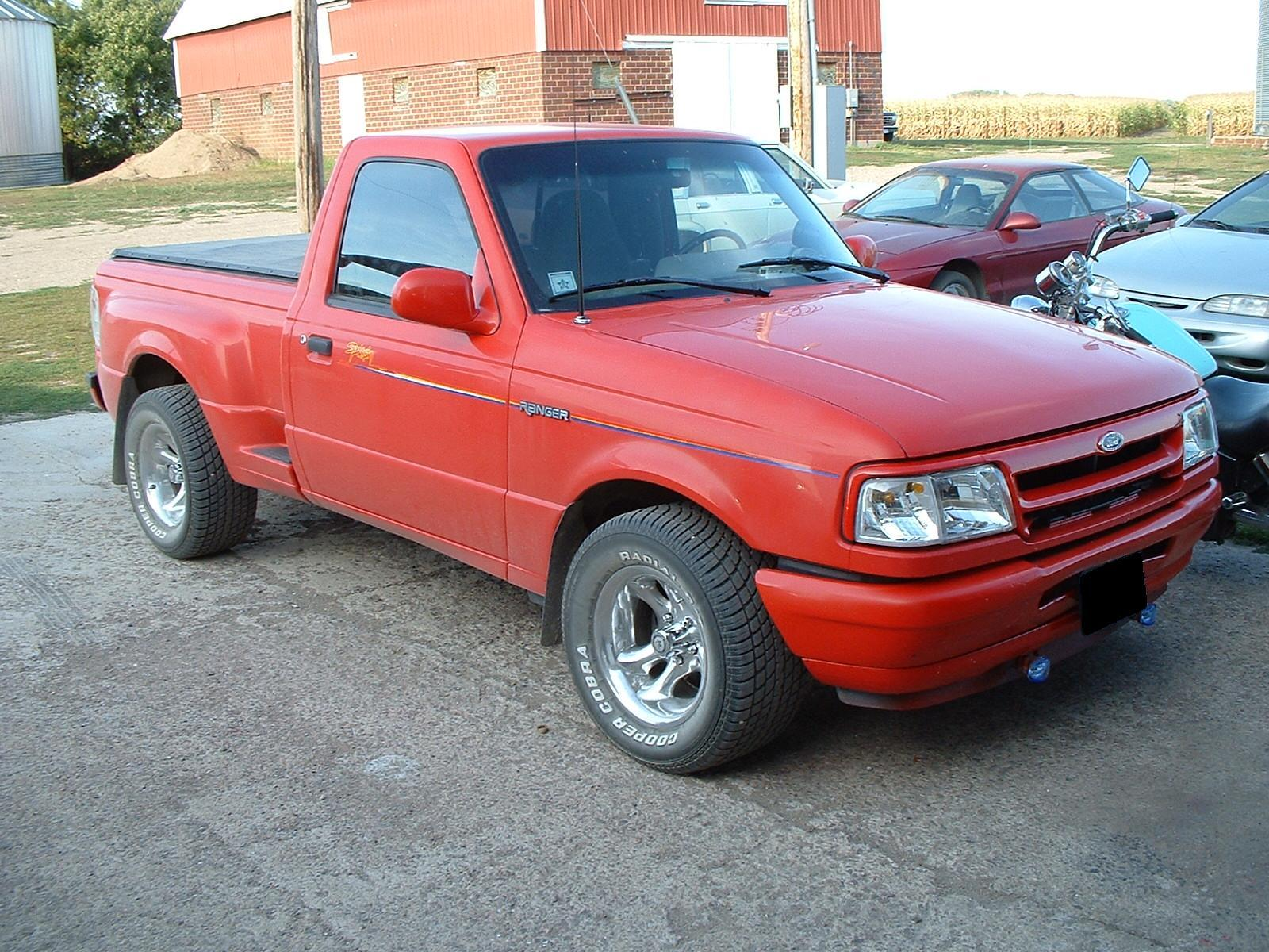 1993 Ford Ranger-Regular-Cab