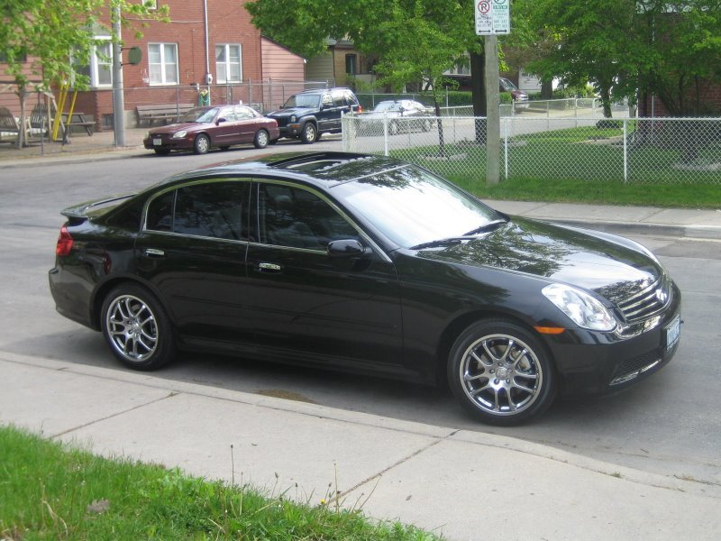 350zed 2006 infiniti g specs photos modification info at cardomain. Black Bedroom Furniture Sets. Home Design Ideas