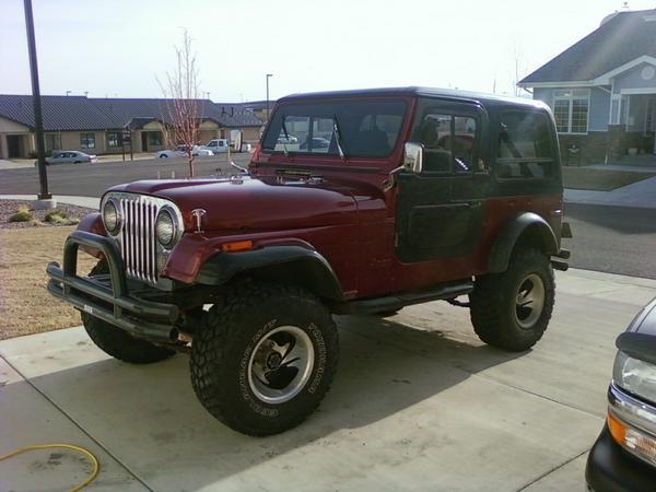Madrox72 1979 Jeep CJ7 Specs, Photos, Modification Info at ...