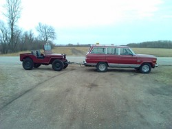 BrokeButHappy 1984 Jeep Grand Wagoneer