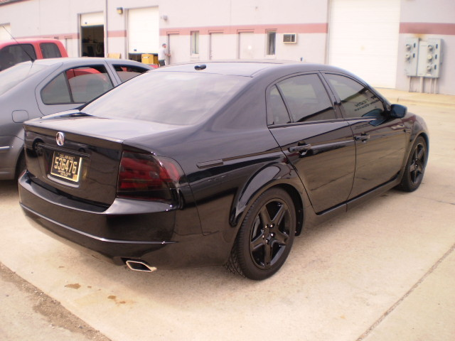 Sagging From Lowering Springs AcuraZine Acura Enthusiast Community - 2005 acura tl lowering springs