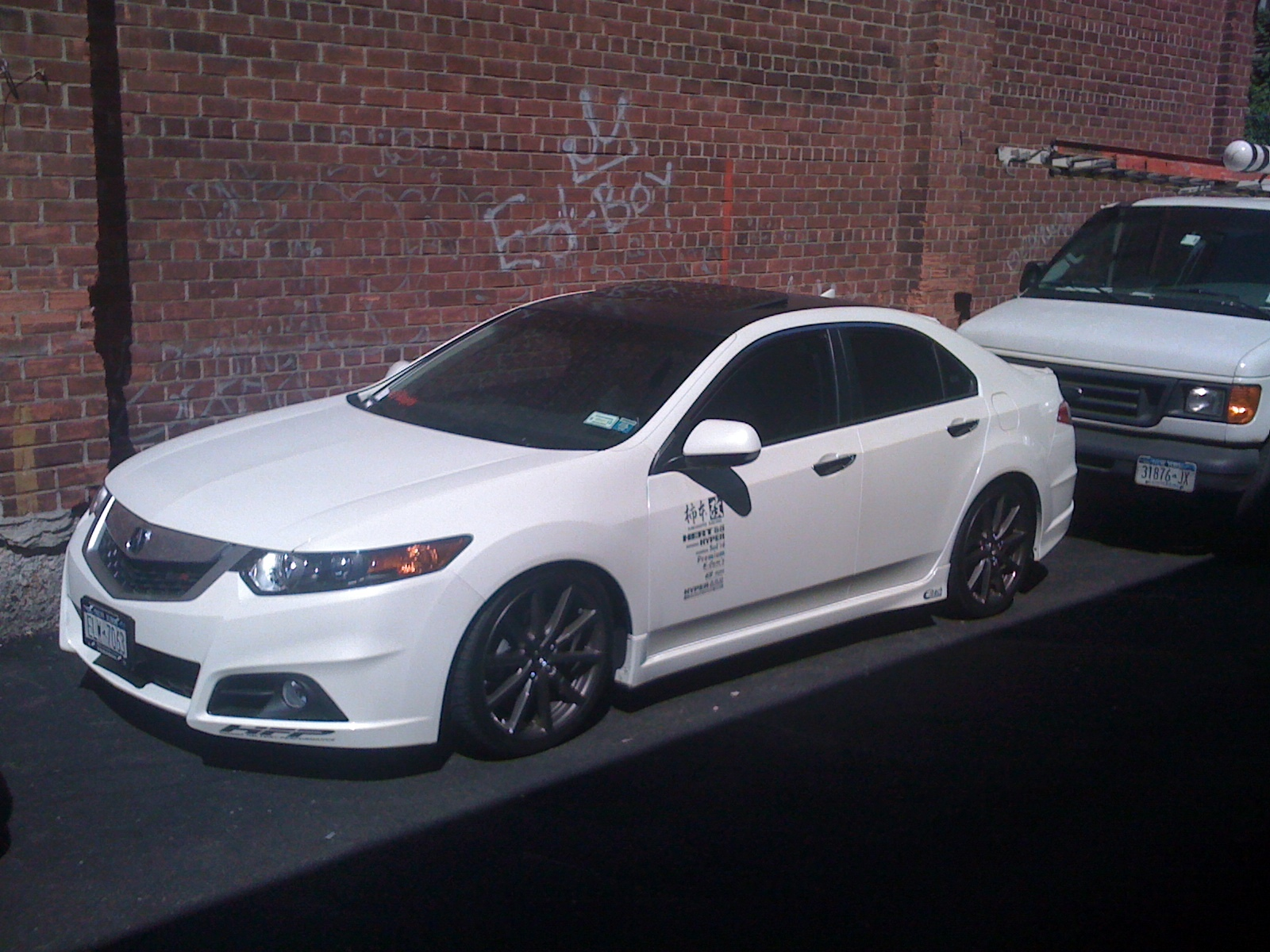 piece m acura type tsx kit duraflex body