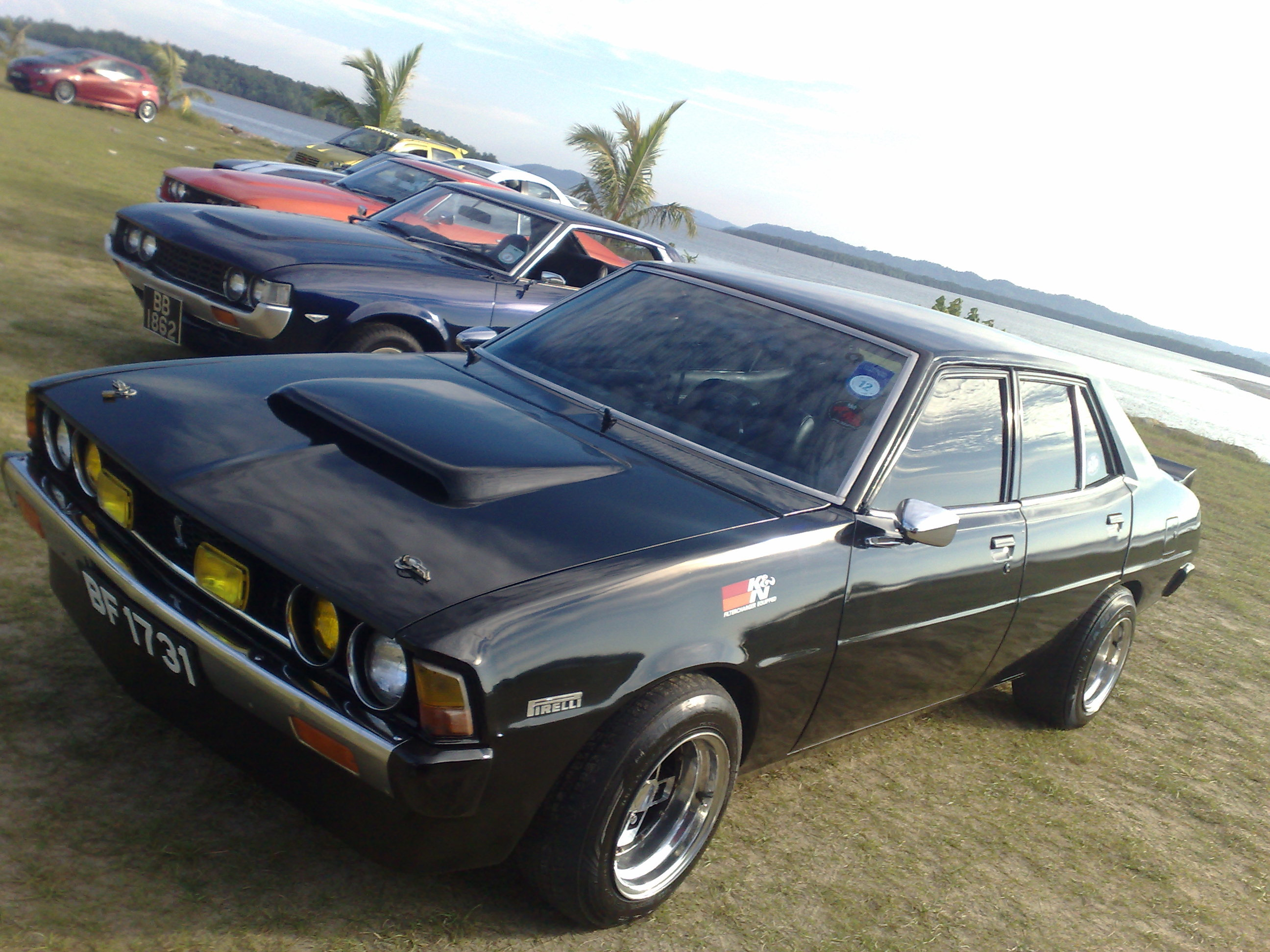 Another yakuzastyle 1977 Mitsubishi Galant post... - 12998597