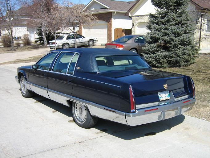 qwerty99 1994 Cadillac Fleetwood Specs, Photos, Modification Info at