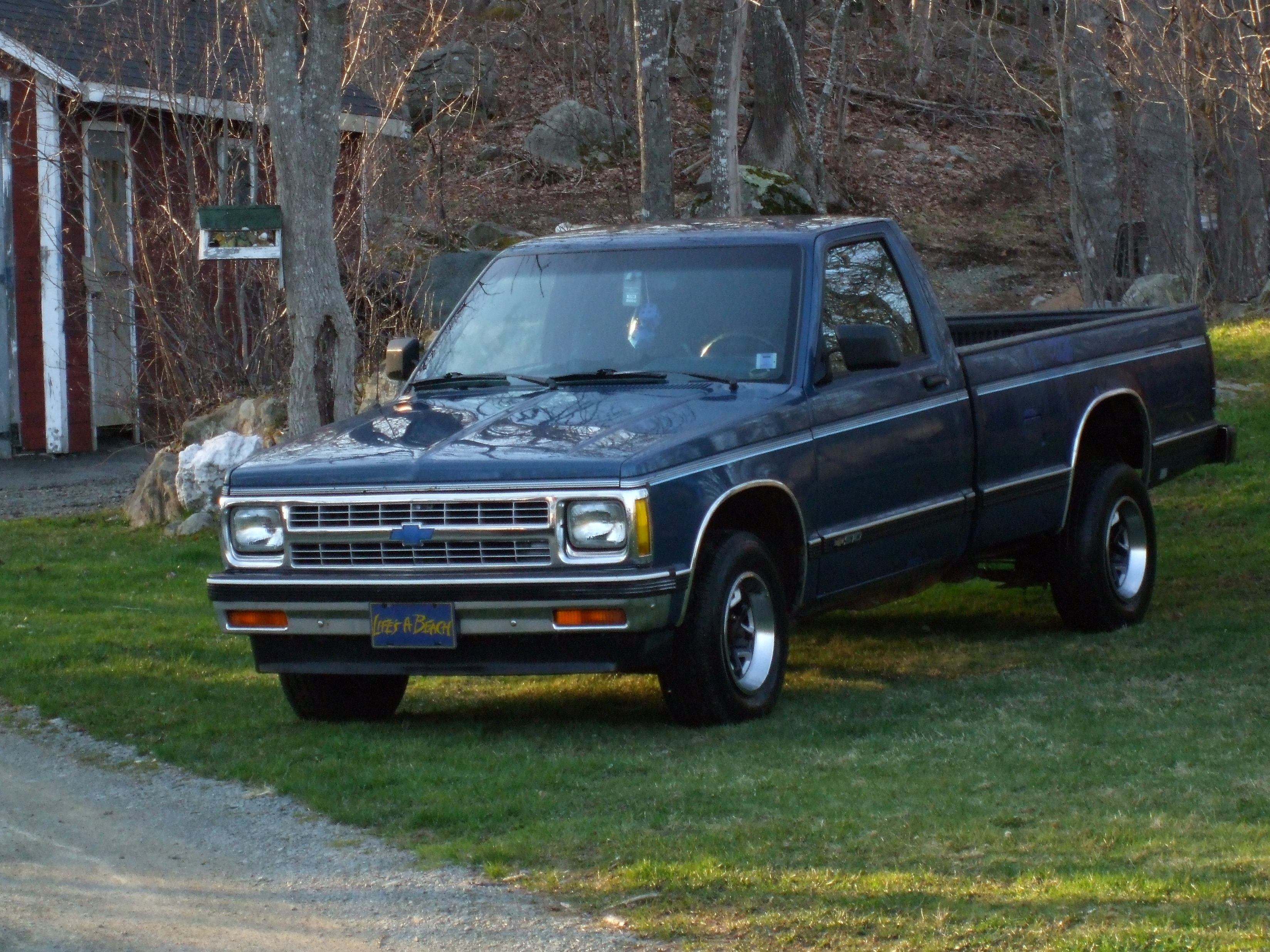 Chevtrucks 1992 Chevrolet S10 Regular Cab Specs Photos Modification Info At Cardomain