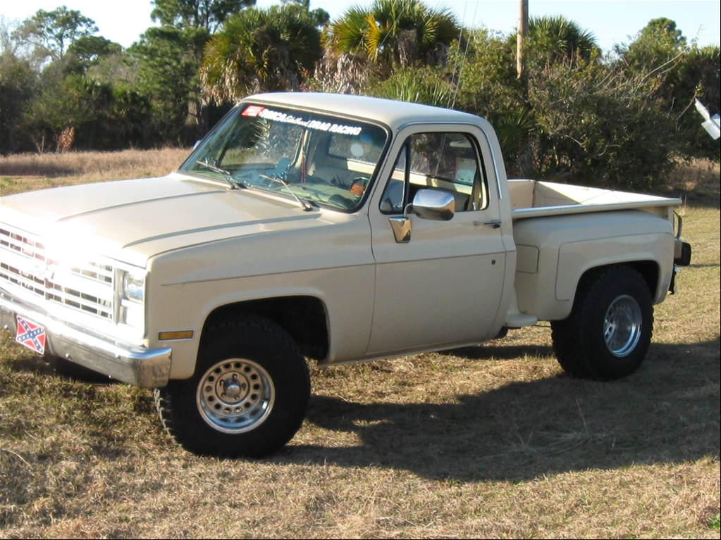 1985 Chevy Stepside 4x4 Trucks For Sale Page 2