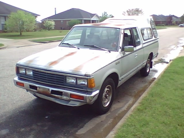 drvwycstm 1985 Nissan 720 Pick-Up 12930281