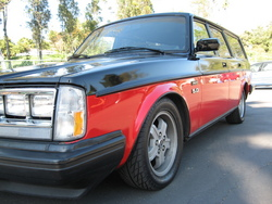 volstangs 1984 Volvo 200-Series
