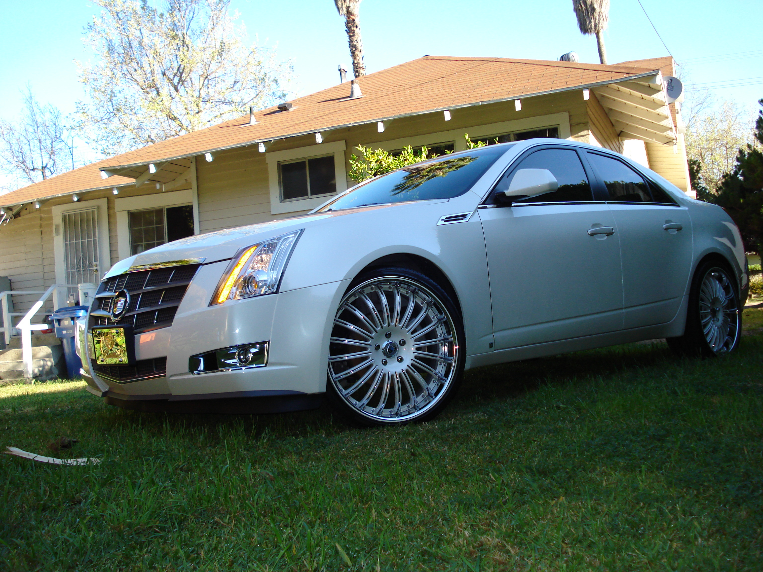 DIAMONDindaROUGH 2008 Cadillac CTS 12928160