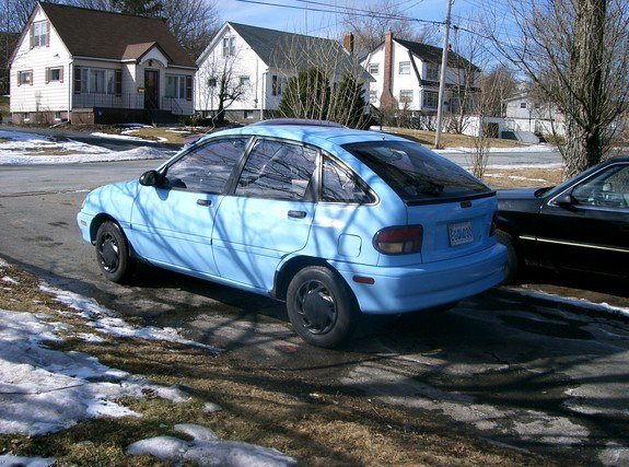 Another fishinuts 1994 Ford Aspire post... - 9543620