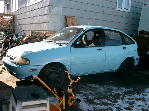 Another fishinuts 1994 Ford Aspire post... - 9543621