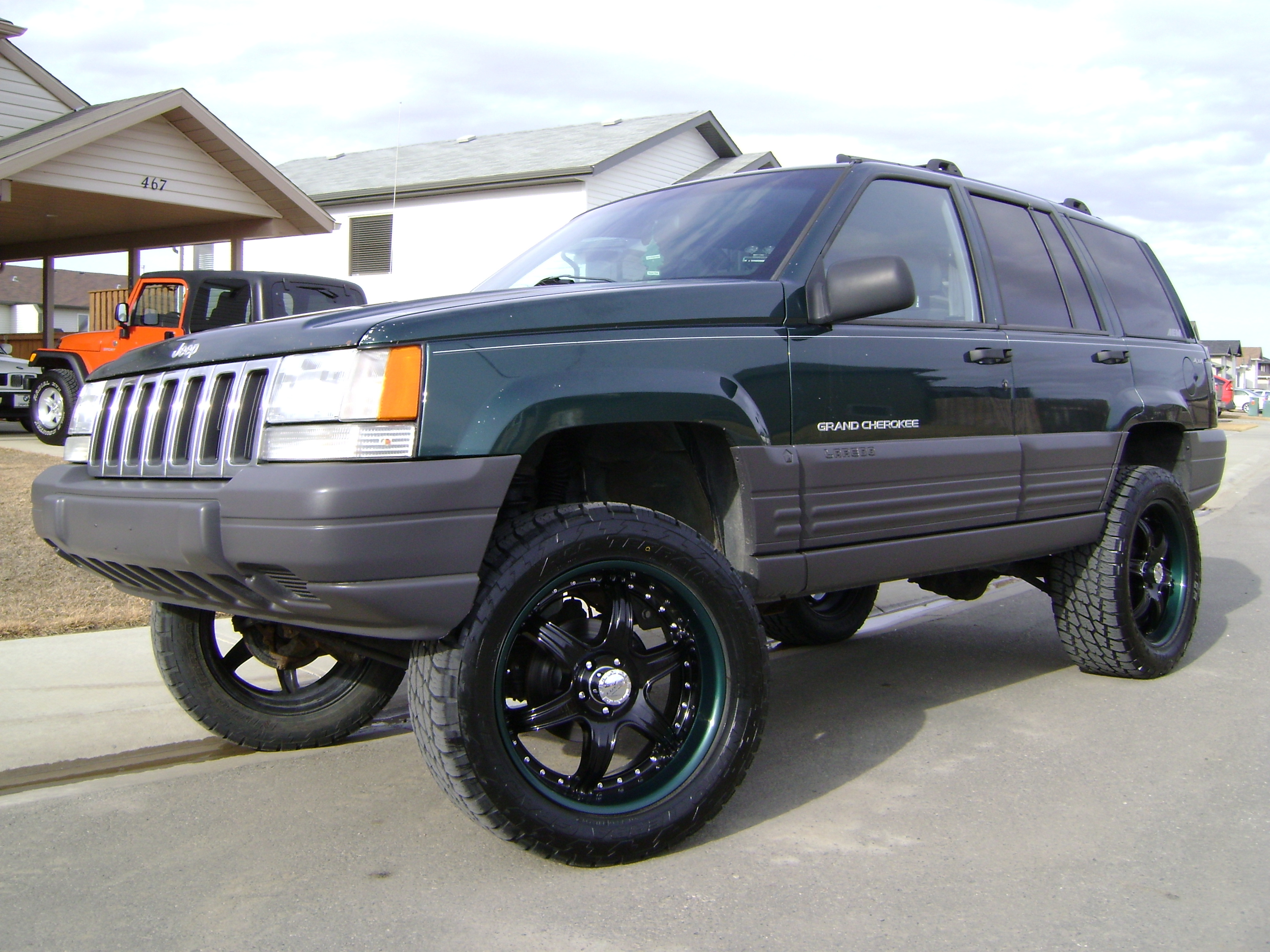 Orpen 1998 jeep grand cherokee specs photos modification info at cardomain for 1998 jeep grand cherokee interior