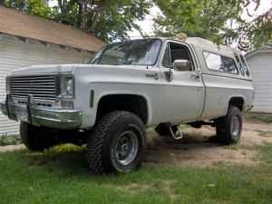 ARMY-RECON 1975 Chevrolet C/K Pick-Up 12940702