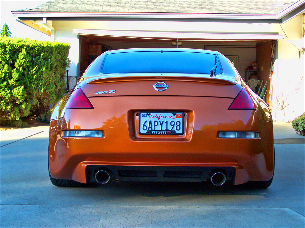 what is this rear bumper? - Nissan 350Z Forum, Nissan 370Z Tech