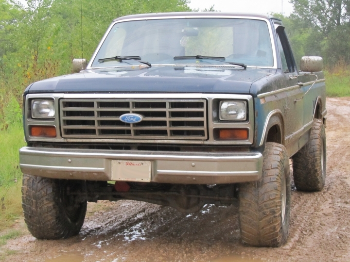 1984 ford f150 4x2