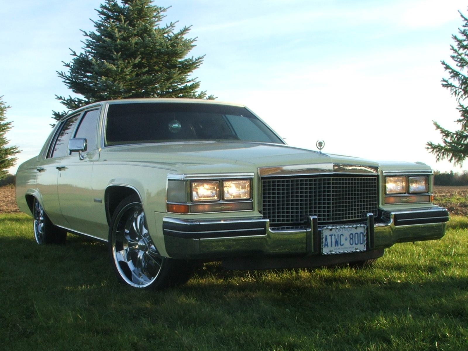 Rob1984 1983 Cadillac Deville Specs Photos Modification