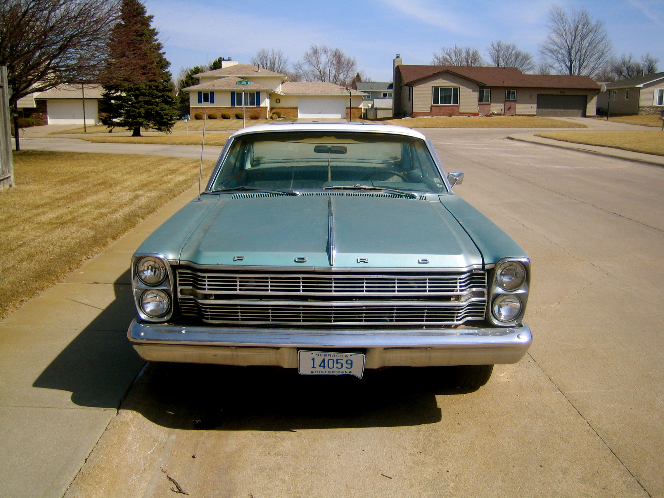 FEELINGFRESH 1966 Ford Galaxie 12946791