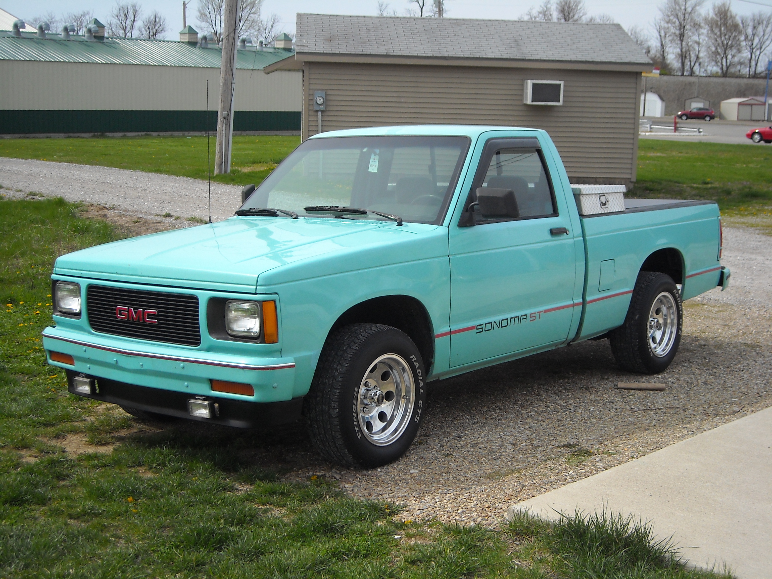 Bluedeman88 39 s 1991 gmc sonoma club cab in seymour in