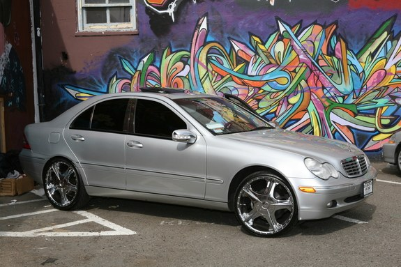 I2amonsays 2004 mercedes benz c class specs photos for Mercedes benz c240 rims