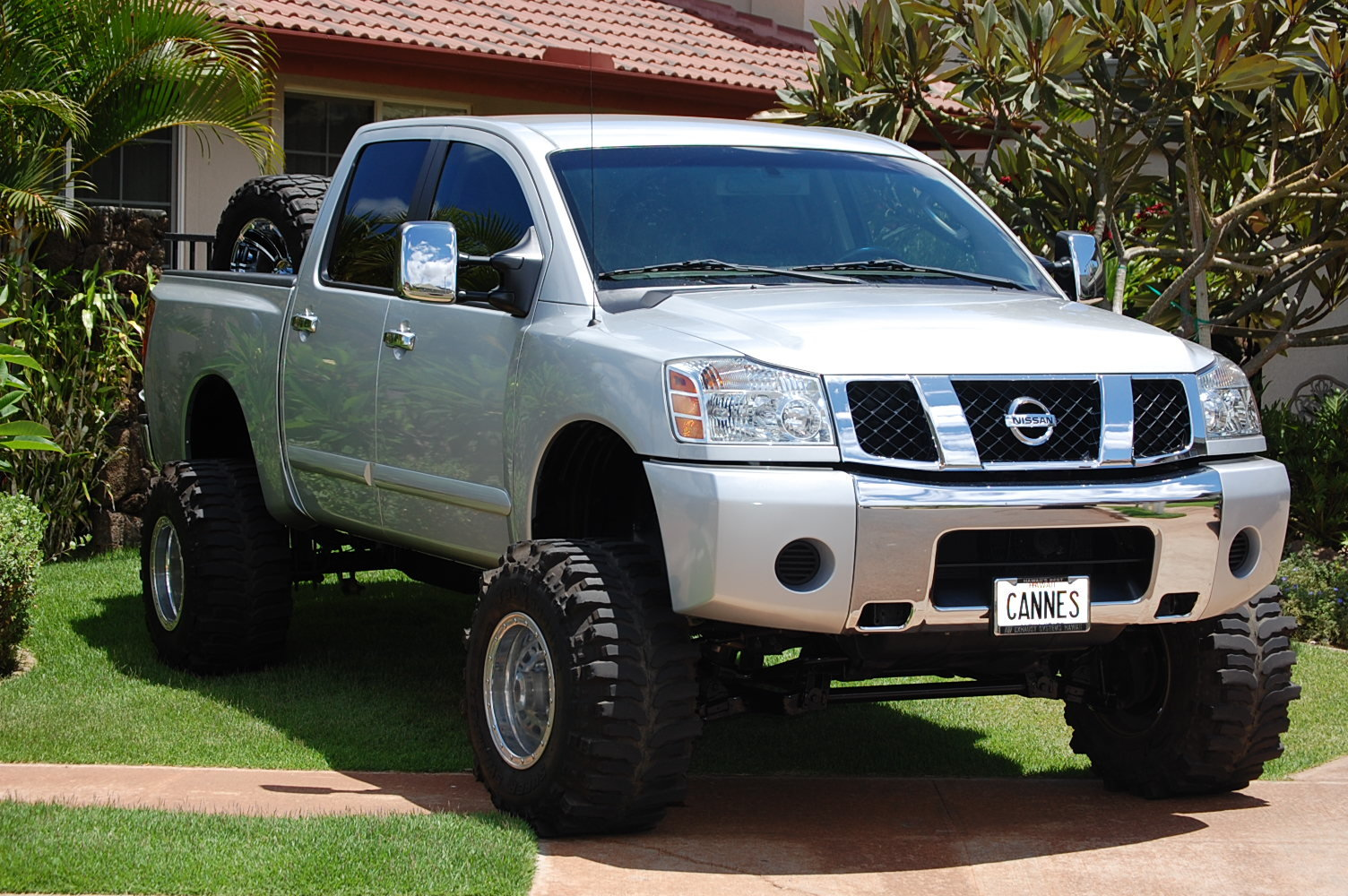 braddasdomain 2008 nissan titan crew cab specs photos modification info at cardomain. Black Bedroom Furniture Sets. Home Design Ideas