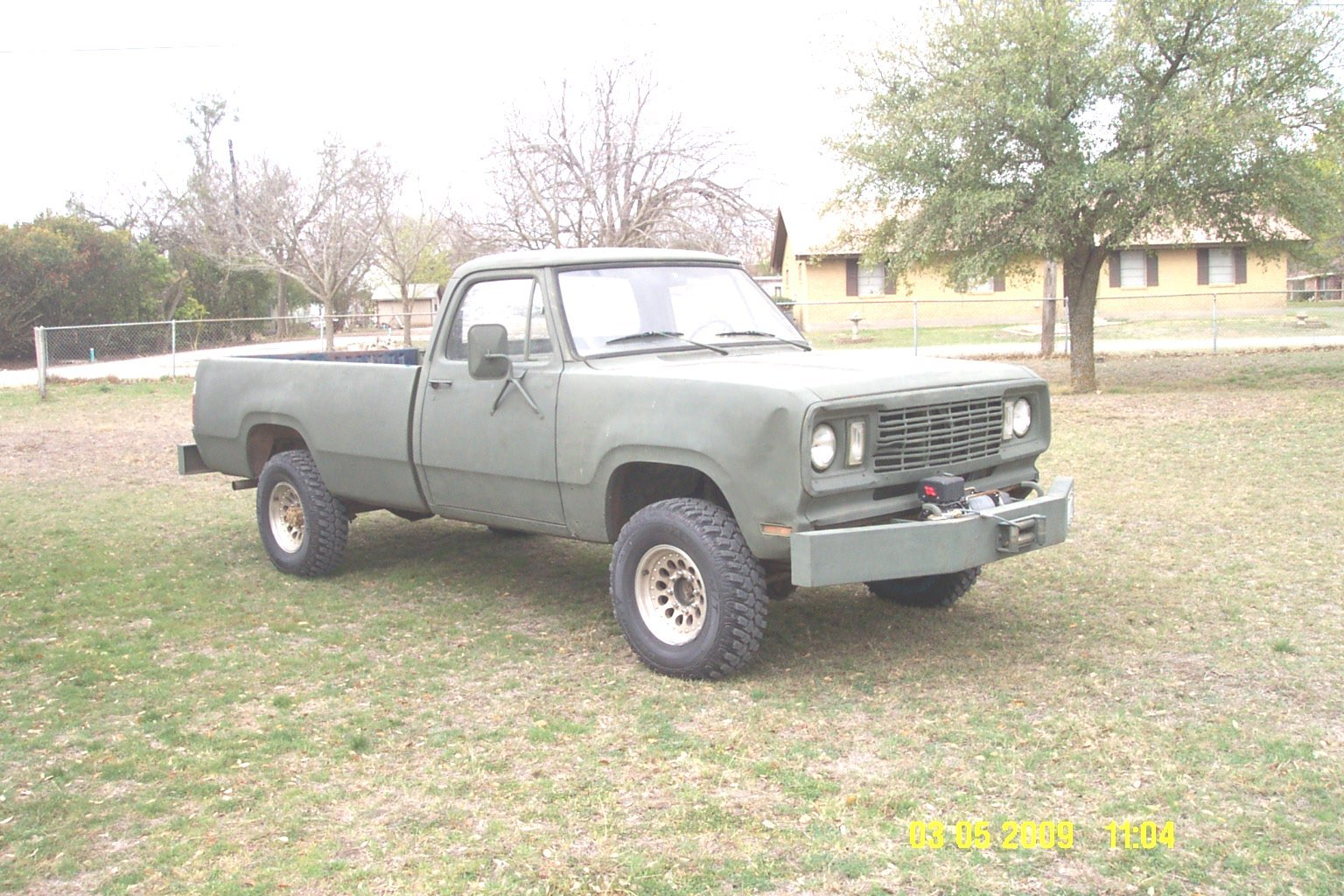 78warlock4x4 1977 Dodge W-Series Pickup