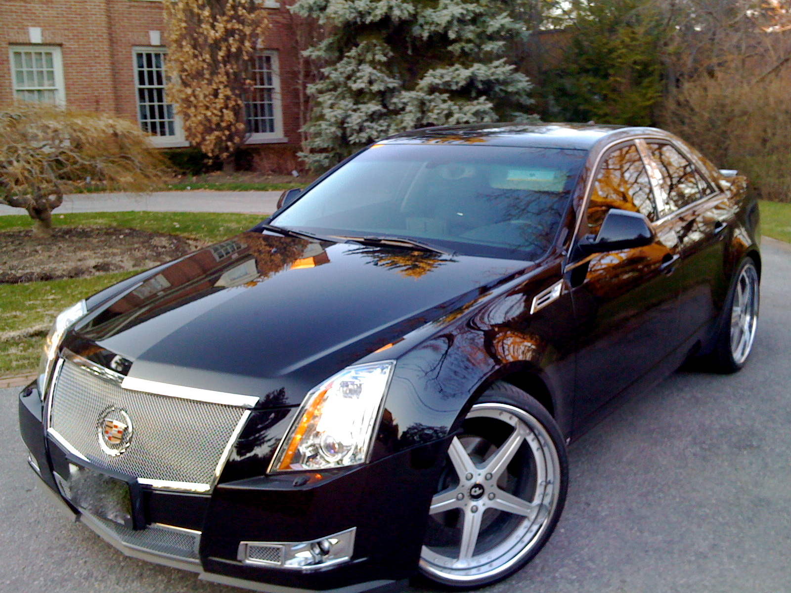 jwise36 2009 cadillac cts specs photos modification info. Black Bedroom Furniture Sets. Home Design Ideas