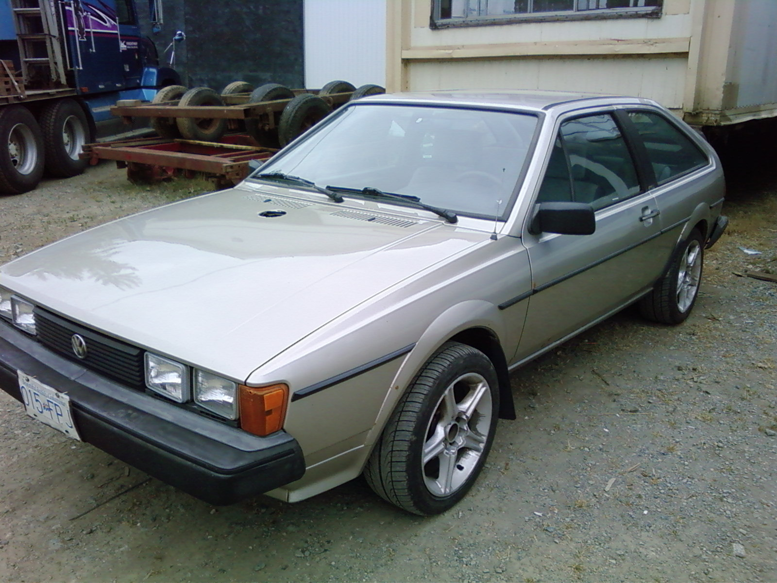 HitMan350 1985 Volkswagen Scirocco Specs, Photos, Modification Info