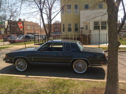 PACMANS_CUTTY 1987 Oldsmobile Cutlass Salon